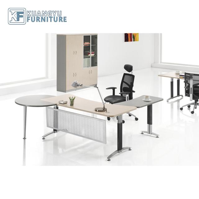 Mfc Magager Steel Leg Desk Front Italian Writing