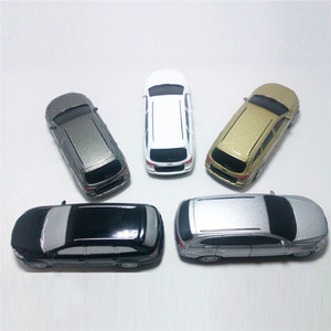Car Key Shape Leather Keychain USB Flash PenDrive No Housing for Wholesale