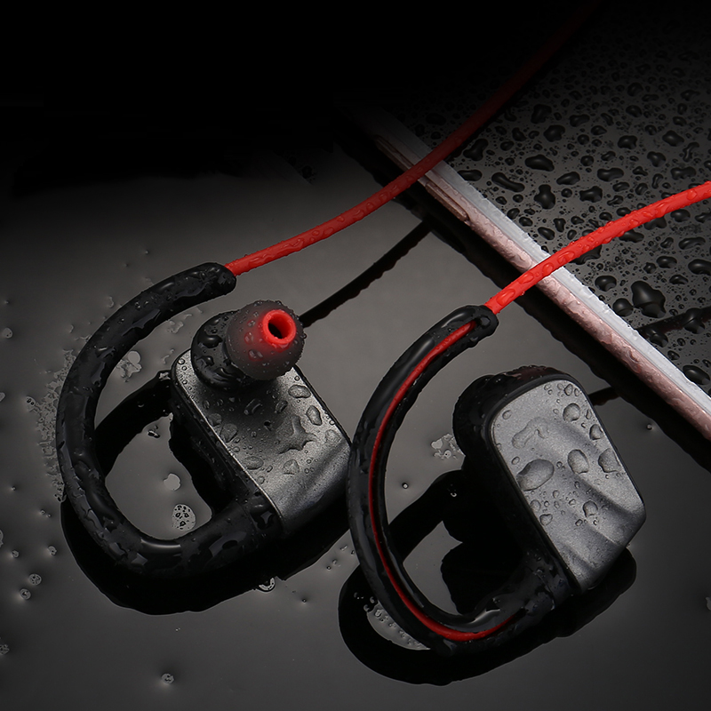 Hot selling ear hook IP67 waterproof sport earphones bluetooth wireless