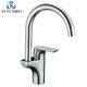 Crown Kitchen Chrome Water Sink Waterfall Faucet