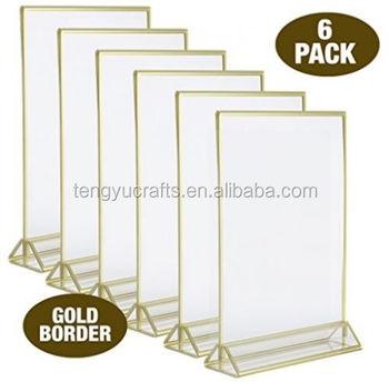 Plastic Fotolijst Display,5x7 Premium Clear Acryl Teken,Bruiloft En ...