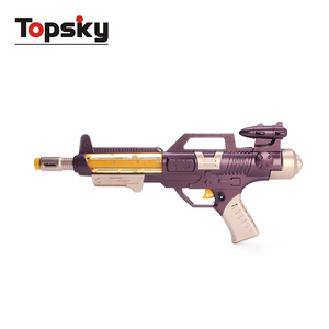 Kid toys electronic metal toy gun model for boys toy with flashing light and sound Age 3+ battery included