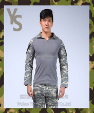 [Wuhan YinSong]Men Python lines Airsoft Army Military Uniform Tactical Navy Seal Combat Frog Suit ( Shirt or Pants )