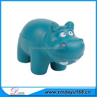 Promotional Toy Hippo Shape stress ball