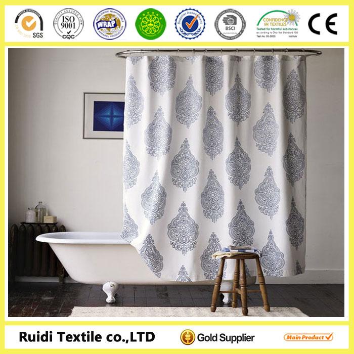 Led Shower Curtainshower Curtain With Bath Rug Setsadjustable Rod