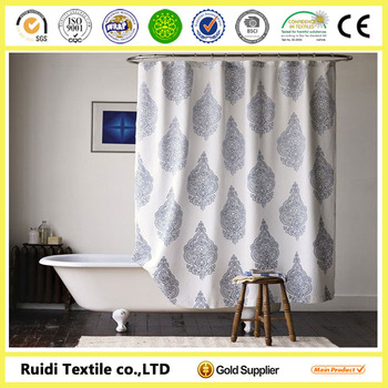 Led Shower Curtainshower Curtain With Bath Rug Setsadjustable Rod