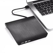 Ultra portátil CD <span class=keywords><strong>DVD</strong></span> Drive <span class=keywords><strong>Externo</strong></span> USB 3.0 Drive Óptico Burner Escritor para Laptop Desktop Mac MacBook etc ..