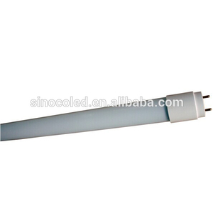 Replace conventional tube explosion proof glass cover T8 LED tube compatible electronic ballast
