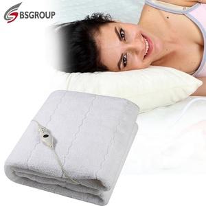 Auto-off fast heating full size king single electric heating mattress pad