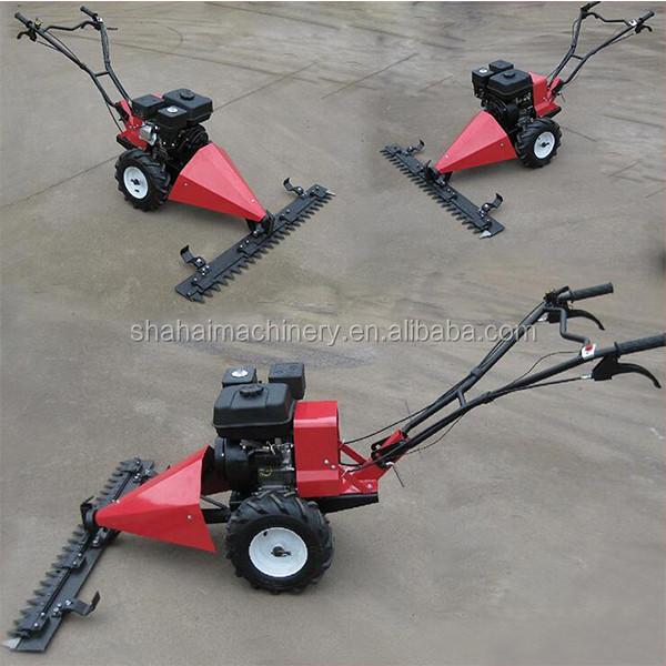 Simple Type Grass Cutting Machine Gasoline New 6 5hp Scythe Mower