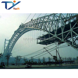 1000m Span Steel Tube Arch Steel Wire Rope Structure Bridge