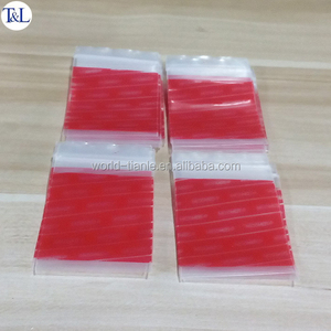 Plastic reusable mini fancy ziplock bag waterproof ldpe material