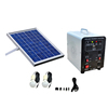 12 DC small power plant system with panel power,charger controller and batteries