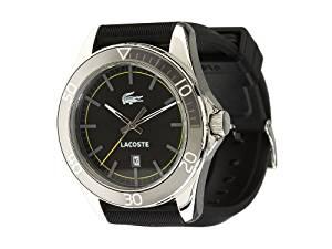 877fe738505 Get Quotations · Men s Lacoste Sport Navigator Polyurethane Watch 2010509