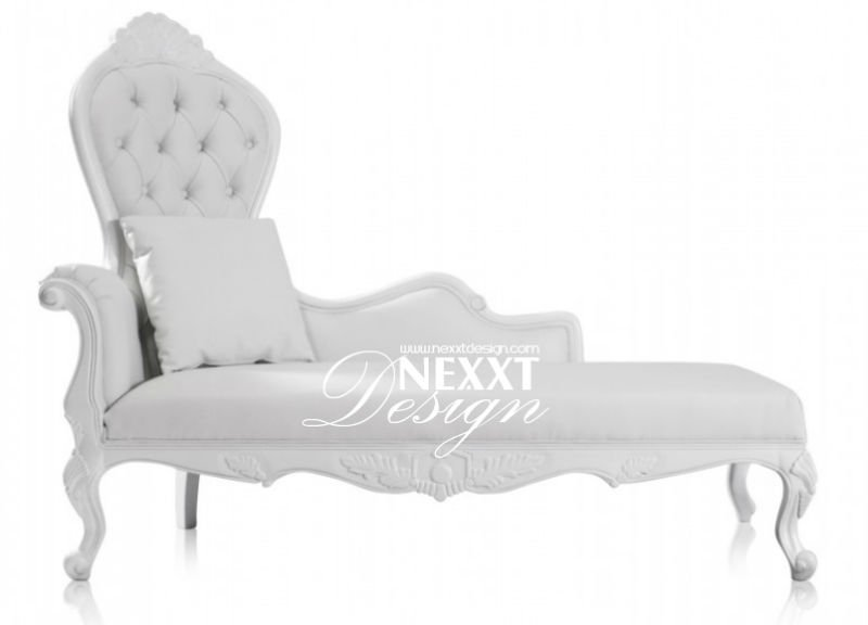 Classical Lounge Chair Elegant Baroque (white) By Nexxtdesign   Buy New  Classical Baroque Antique Luxury Lounge Chair Elegant Nexxtdesign Merdian  Meridienne ...