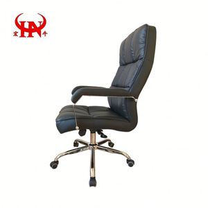 Big Boss Leather Swivel Soft Pad Office Chair