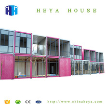 Luxury economic modular Flat pack quality container house cabin low cost portable cabin in jeddah ksa-saudi arabia