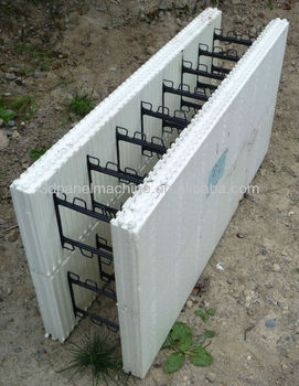 Eps Hollow Foam Block Machine Icf Foam Hollow Block