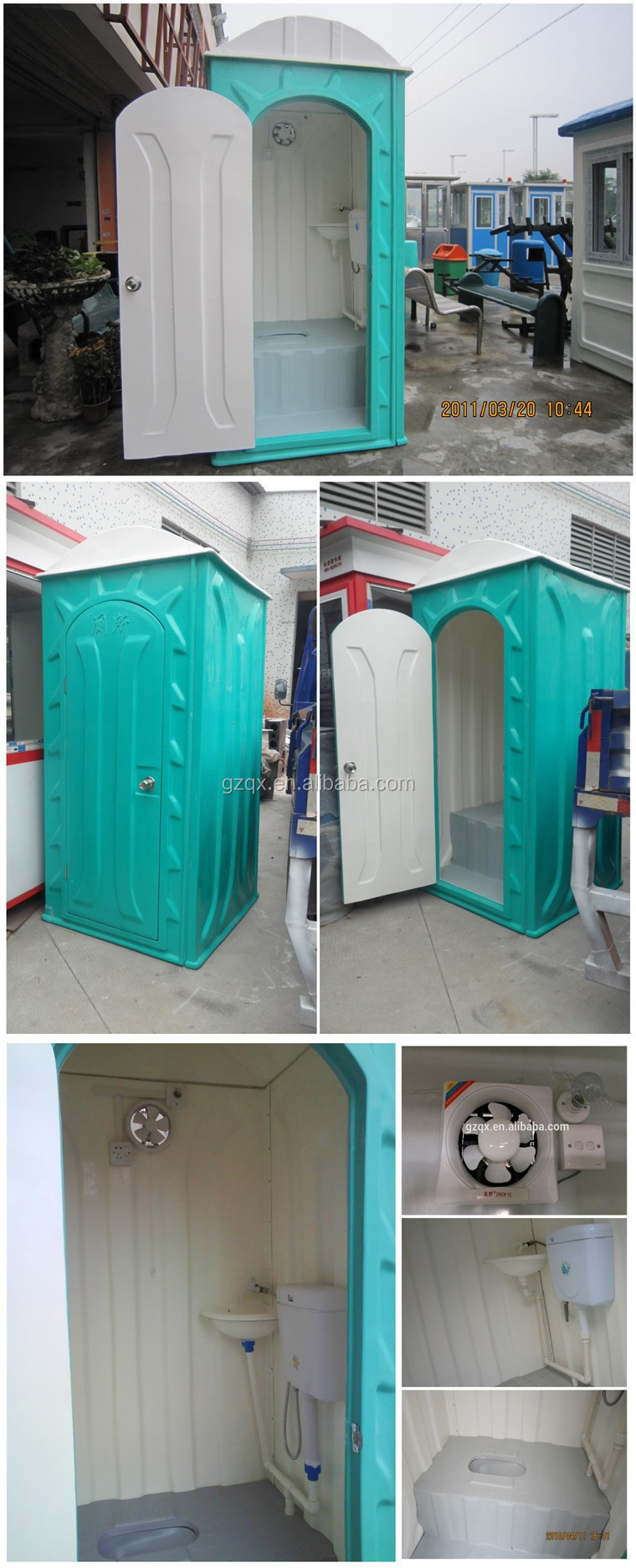 Guangzhou Fiberglass Outhouse Toilets/handicapped Toilet/hidden ...