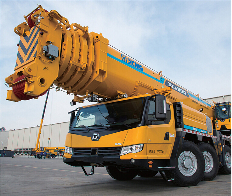 XCA350 Bigbund all terrain official 350 ton truck crane for sale
