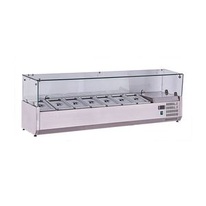 guangzhou manufacture salad bar / commercial kitchen equipment / salad bar display