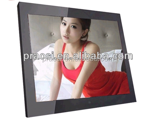 promotional digital photo frame; 15'' hot selling digital photo frame