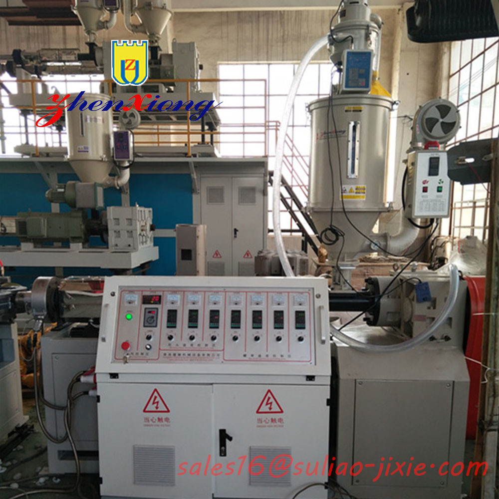 Hot Sale PVC, PP, PE Single-wall Corrugated Pipe Production Line