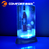 portable outdoor RGB color changing acrylic sign holder