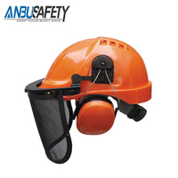 Hot selling products construction hat industrial safety helmet with visor
