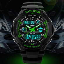 Multifunkční digitální pánské hodinky