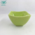 Modern design embossed decal square shape ceramic reusable salad bowl