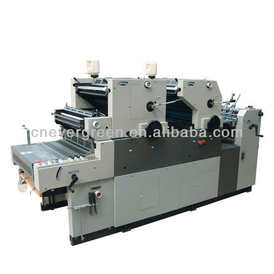 Dos colores offset machine HG256NP offset prensa