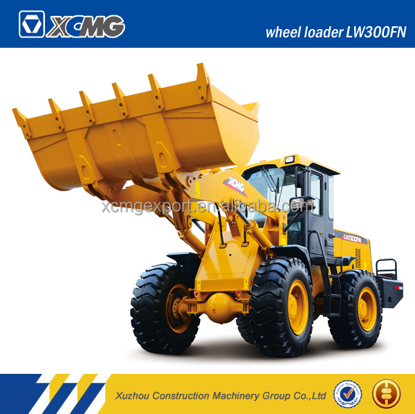 XCMG LW300FN 3ton small Chinese wheel loader for sale with best price