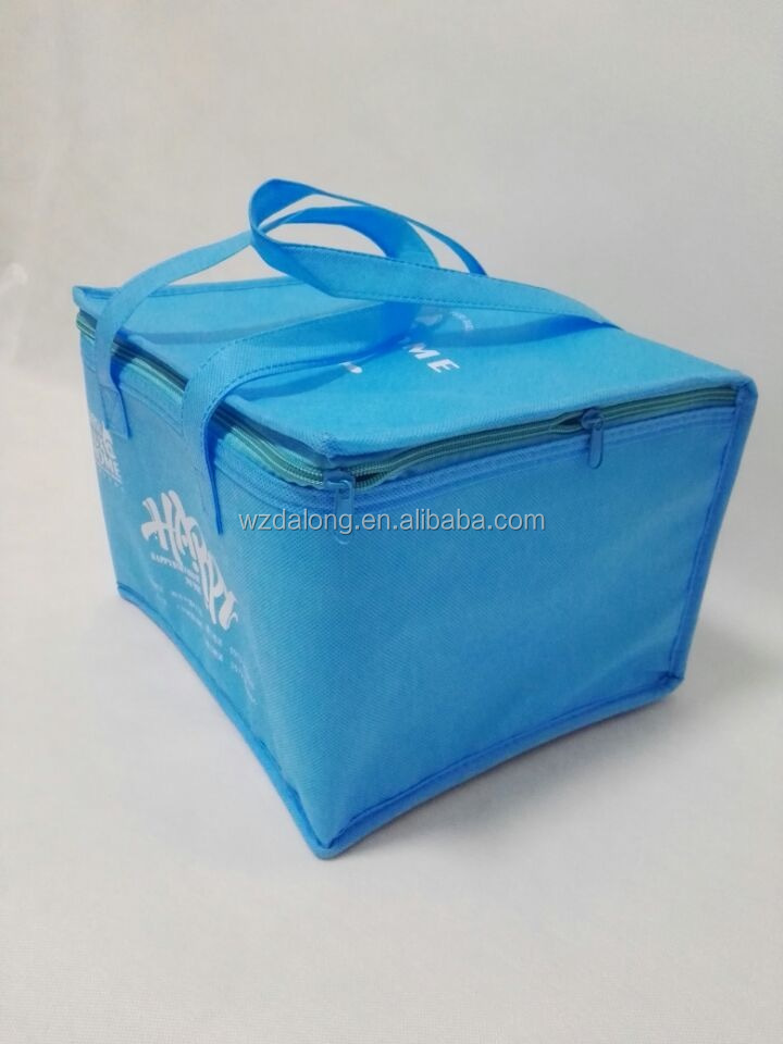 2016 Promotional Non Woven Food <strong>Delivery</strong> Cooler Bag