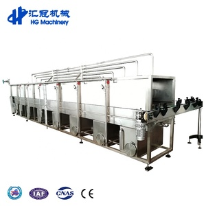 semi automatic sterilizing equipment tunnel pasteurizer