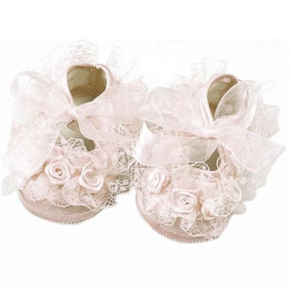 מתוק תחרה פעוטה תינוק נעלי תינוק ילדה החלקה הנסיכה נעליים Prewalker משלוח חינם