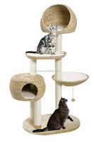 2017 Garden Furniture big size large cat tree and cat toy