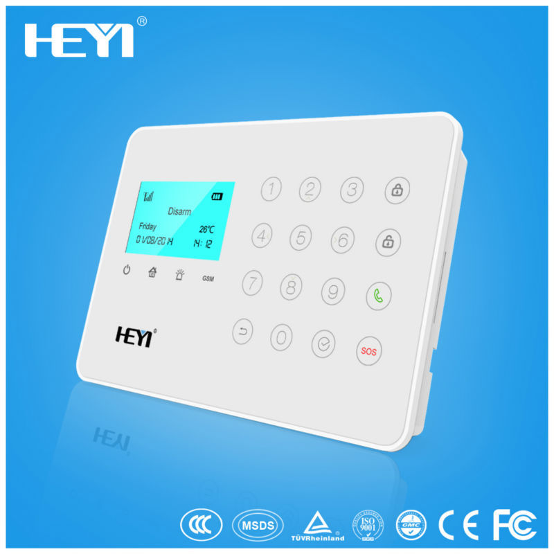 Smart self monitoring wirless GSM alarm system