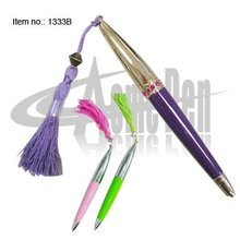 Fashion Metal with Pendant Crystal pen