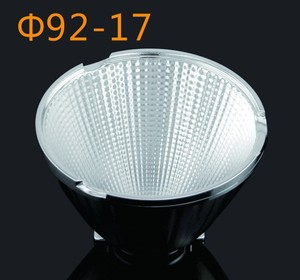 Alibaba led lights COB reflector for illumination GM-9238 92mm 38 degree indoor lighting lamp cover manufacturer