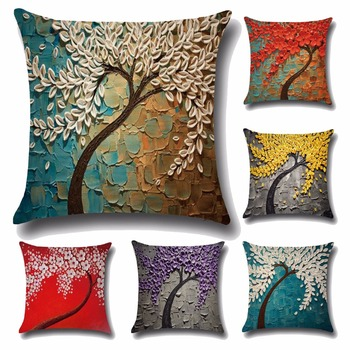 Wholesale Fancy Latest Design 3d Painting Throw Pillow