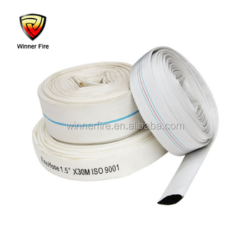 High quality Rubber line fire hydrant hose in fire fighting equipment