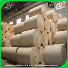 Advanced Corrugated Wrapping Fluting Paper 160gsm corrugated paper in roll