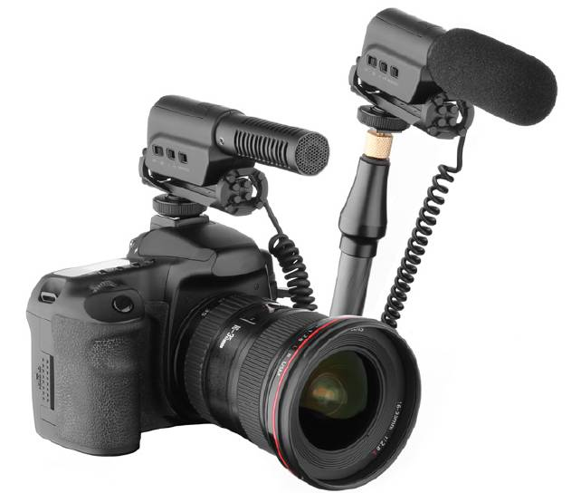 CCM-286 DSLR mixer video camera microphone
