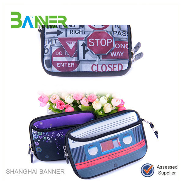 Low price Promotional waterproof neoprene handbag women's wallet