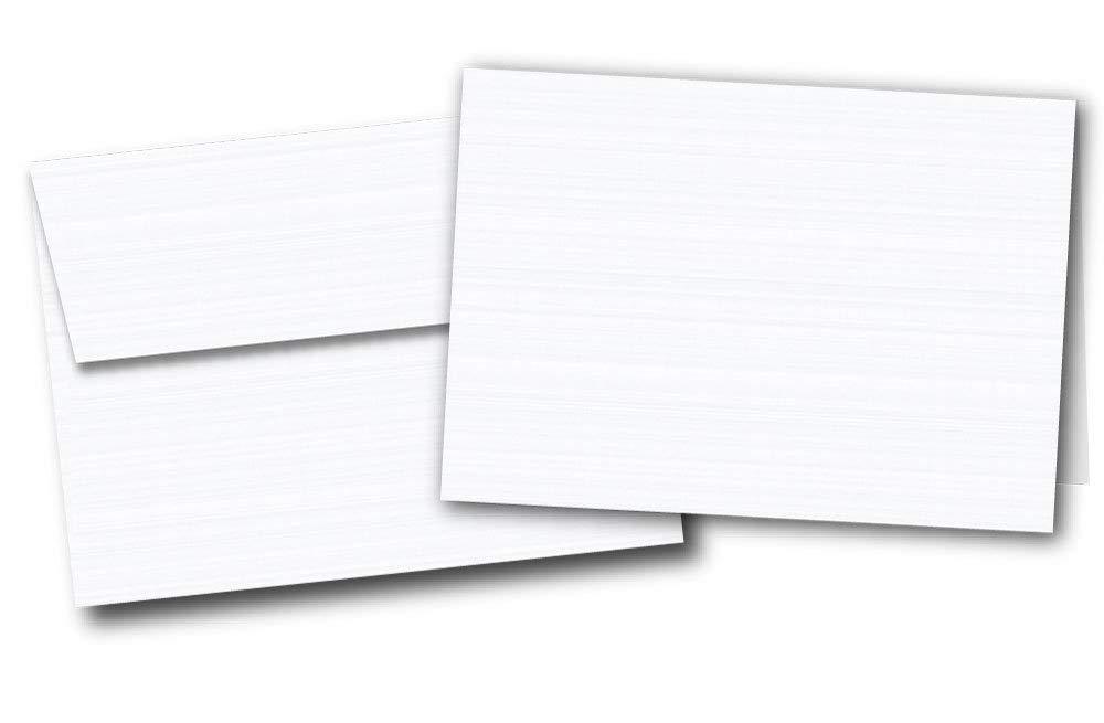 Cheap executive greeting cards find executive greeting cards deals get quotations 5 x 7 blank white linen textured greeting card sets 40 cards m4hsunfo