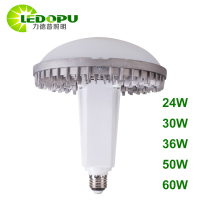 Free Sample High Lumen Brightness E27 5500K Smart Size Light Bulb 24W UFO Highbay For Industrial