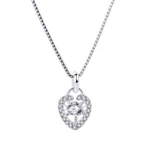 wholesale 925 Sterling Silver zircon pendent P20257