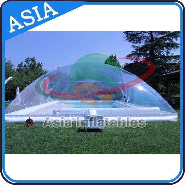 F te en plein air gonflable piscine tente d me appareil Dome gonflable piscine