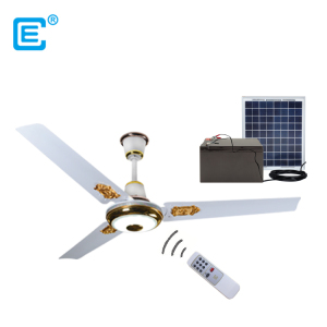 "factory direct 56"" solar dc ceiling fan purpose ceiling fan with light"